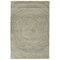 Hand-Tufted Brantley Grey AWool Rug - 9' x 12'