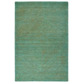 Bombay Home Brantley Turquoise Wool Hand-tufted Rug (9' x 12') https://ak1.ostkcdn.com/images/products/18093062/P24251223.jpg?impolicy=medium