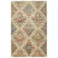 Bombay Home Loki Beige/Multicolored Machine-made Oriental Area Rug (9'2 x 12'6)
