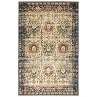 Bombay Home Machine-made Loki Ivory Polypropylene Rug (9'2 x 12'6)