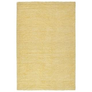 Hand-Tufted Brantley Gold Wool Rug - 9' x 12'