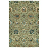 Bombay Home Ashton Sage Wool Hand-tufted Rug (8' x 10')