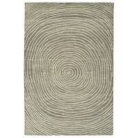 Hand-Tufted Brantley Grey Wool Rug - 8' x 10'