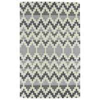 Hand-Tufted Copal Grey Wool Rug - 8' x 10'