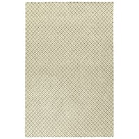Hand-Tufted Snook Beige Wool Rug - 8' x 10'