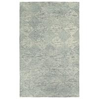 Hand-Tufted Homa Grey Wool Rug - 8' x 10'