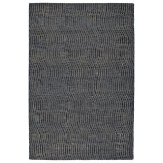 Hand-Tufted Brantley Blue Wool Rug - 8' x 10'
