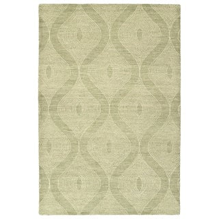 Bombay Home Brantley Sage Wool Hand-tufted Rug (8' x 10')