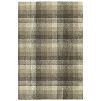 Hand-Tufted Snook Brown Wool Rug - 8' x 10'