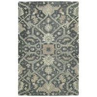 Bombay Home Ashton Graphite Hand-tufted Area Rug (8' x 10')