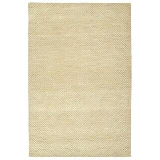 Hand-Tufted Brantley Sand Wool Rug - 8' x 10'