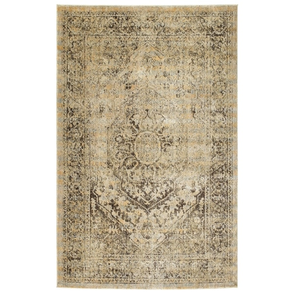 Bombay Home Loki Gold Area Rug (7'10 x 10'6)