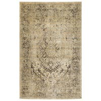 Bombay Home Loki Gold Area Rug - 7'10 x 10'6