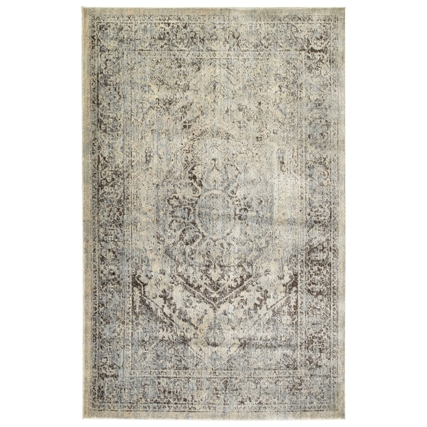 Bombay Home Loki Spa Blue Rug - 7'10 x 10'6
