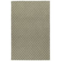 Hand-Tufted Snook Grey Wool Rug - 8' x 10'
