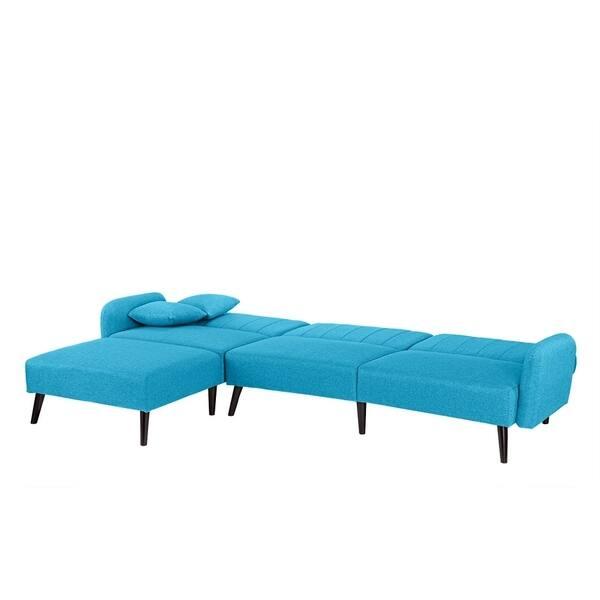 Enjoyable Shop Mid Century Sleeper Futon Sofa Reclining Sectional Ibusinesslaw Wood Chair Design Ideas Ibusinesslaworg