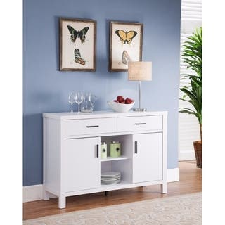 Simplistic Contemporary Utility Buffet, White|https://ak1.ostkcdn.com/images/products/18094152/P24252292.jpg?impolicy=medium