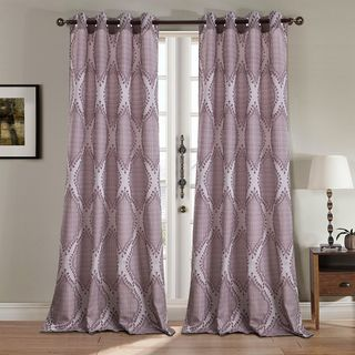 RT Designers Collection Glendale Jacquard 84-inch Grommet Curtain Panel