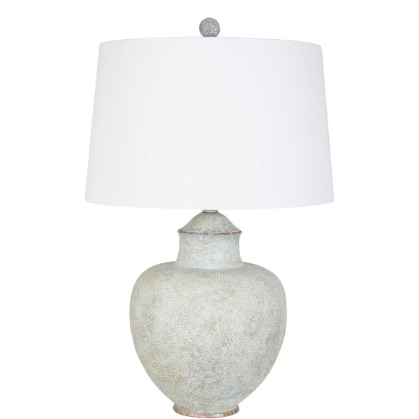 Avivo 27.5 in. Grey Traditional Table Lamp