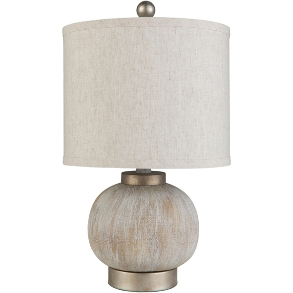 Lucinda 19 in. Cream Transitional Table Lamp