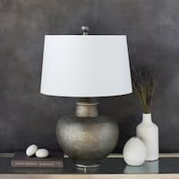 Aviva 26 in. Taupe Traditional Table Lamp