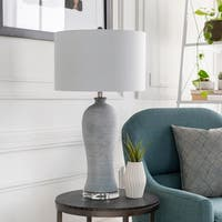 Annice 30.5 in. White Transitional Table Lamp
