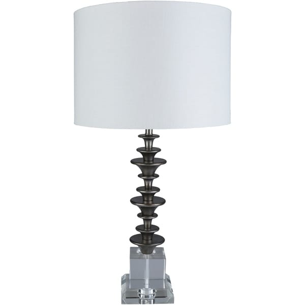 Arcelia 29 in. White Transitional Table Lamp
