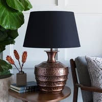 Balam 31.5 in. Black Traditional Table Lamp