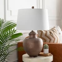 Avivo 27.5 in. Tan Traditional Table Lamp