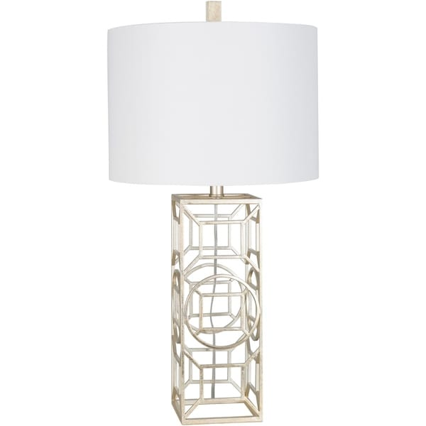 Kosmas 30.25 in. White Transitional Table Lamp