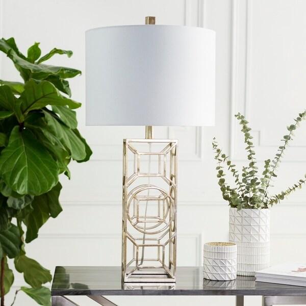 Kosmas 30.25 in. White Transitional Table Lamp