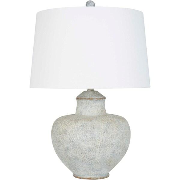 Aviva 26 in. Grey Traditional Table Lamp