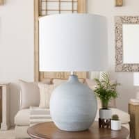 Costen 32 in. White Transitional Table Lamp