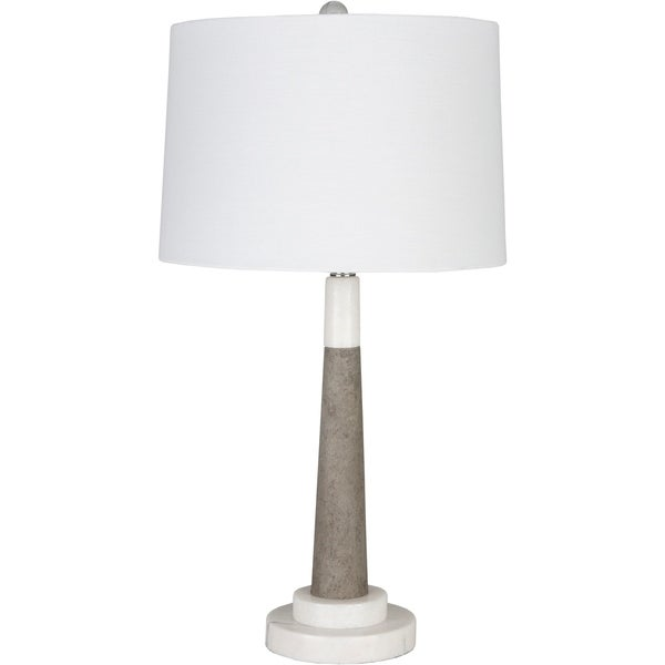 Danbury 28 in. White Transitional Table Lamp