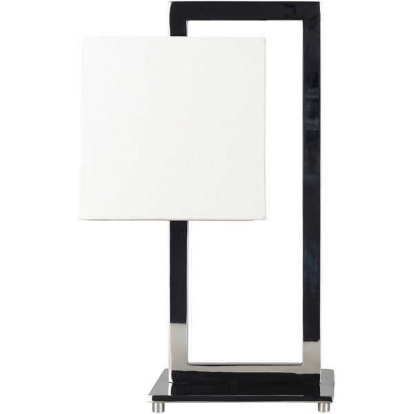 Jaelin 20.75 in. White Modern Table Lamp
