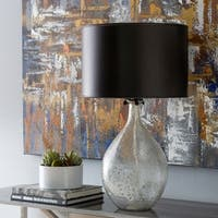 Vorina 28.5 in. Gray Coastal Table Lamp