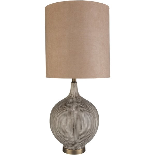 Katica 32 in. Taupe Transitional Table Lamp