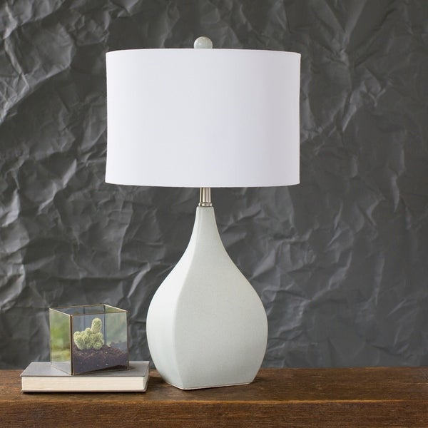 Verity 25.5 in. Cream Transitional Table Lamp