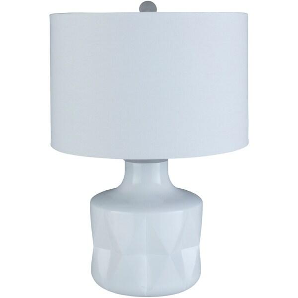 Mika 23.75 in. Slate Modern Table Lamp