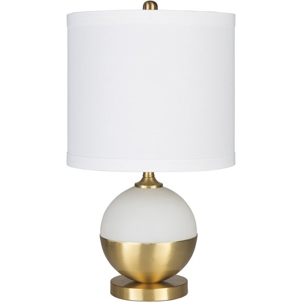 Purcell 23 in. White Modern Table Lamp
