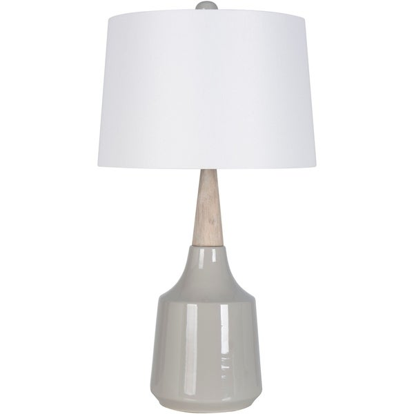Peregrino 27.5 in. Gray Modern Table Lamp