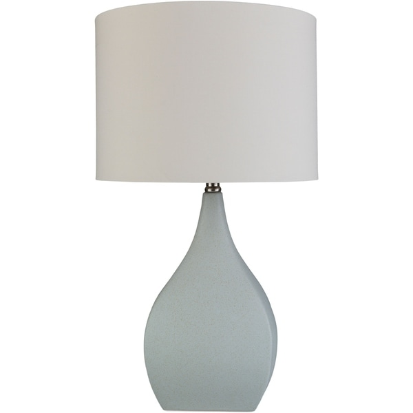 Verity 25.5 in. Gray Transitional Table Lamp