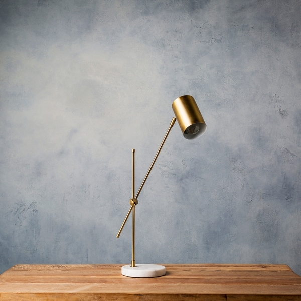 Cerrin 24 in. Gold Modern Table Lamp