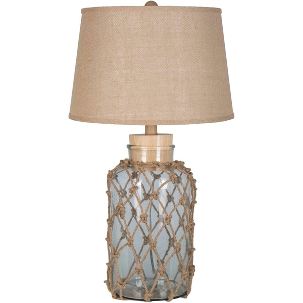 Elstow 30 in. Gray Transitional Table Lamp