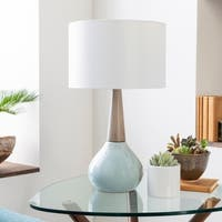 Peregrine 18.75 in. Blue Modern Table Lamp