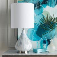 Bremhill 29.15 in. White Transitional Table Lamp
