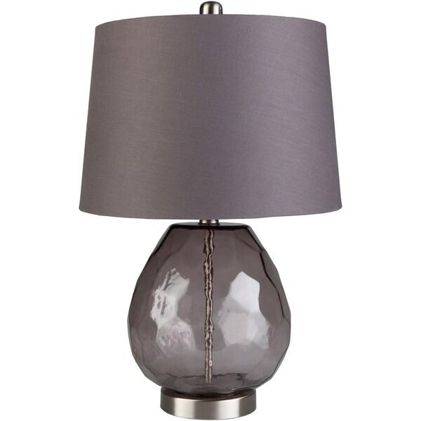 Jillian 21.8 in. Purple Transitional Table Lamp