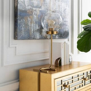 Leonora 39.75 in. Gold Modern Table Lamp
