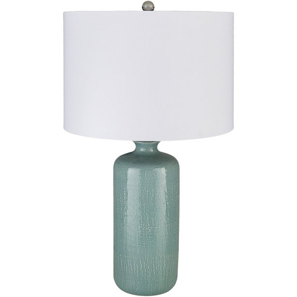 Felindre 25.75 in. Teal Transitional Table Lamp