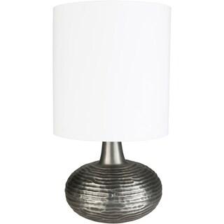 Alykes 31.5 in. White Modern Table Lamp